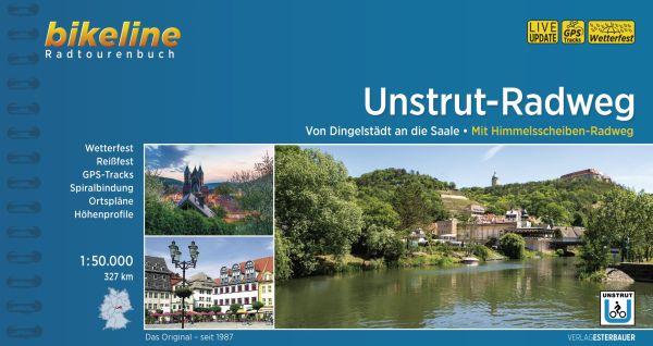 Unstrut-Radweg, Bikeline Radwanderführer mit Karte, Esterbauer