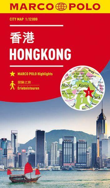 Hongkong Stadtplan 1:12.000 - Marco Polo