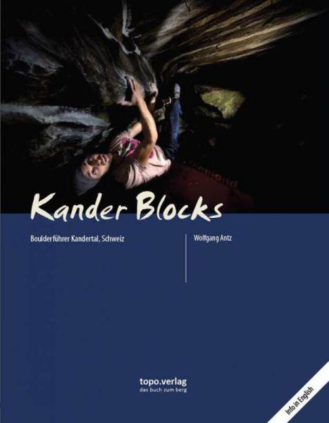Kander Blocks, Kandertal Boulderführer, Topo Verlag