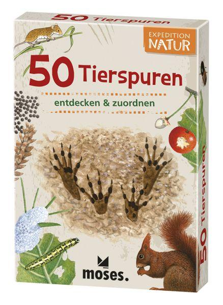 50 heimische Tierspuren entdecken und bestimmen, Moses Verlag