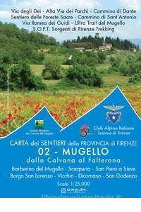 Provincia di Firenze Bl. 2 Mugello, 1:25.000, D.R.E.A.M
