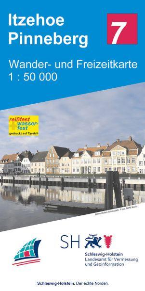Blatt 7 Itzehoe - Pinneberg Wander- und Freizeitkarte 1:50.000
