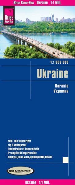 Ukraine Landkarte 1:1.000.000, Reise Know-How