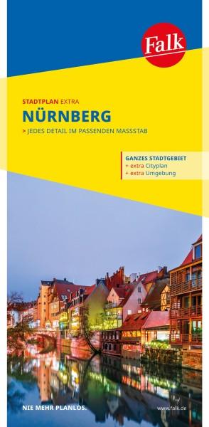 Falk Stadtplan extra Nürnberg