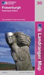 Landranger 30 Fraserburgh, Großbritannien Wanderkarte 1:50.000