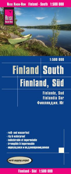 Finnland Süd Straßenkarte 1:500.000 - Reise Know-How