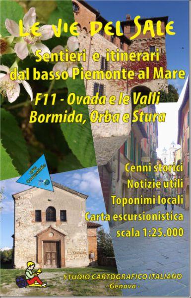 Wanderkarte für Ovada & le Valli Bormida, Orba & Stura in Ligurien Bl. 11