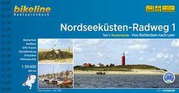 Nordseeküsten-Radweg 1, Bikeline Radwanderführer mit Karte, Esterbauer
