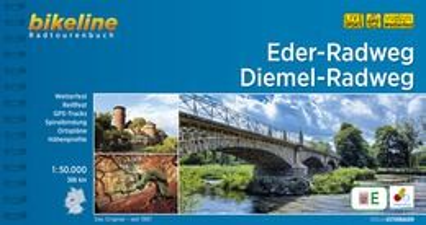 Eder-Radweg / Diemel-Radweg Bikeline Radtourenbuch mit Kartenmaterial