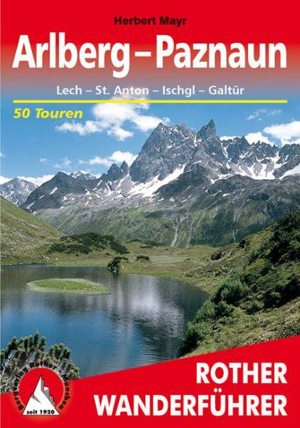 Arlberg - Paznaun Wanderführer, Rother