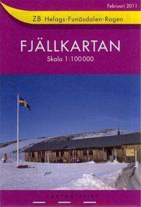Fjällkartan Z8 Schweden Trekking- und Wintersportkarte 1:100.000