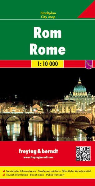 Rom Stadtplan 1:10.000, Freytag und Berndt