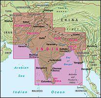 Nelles Maps, Indien 1:4.500.000