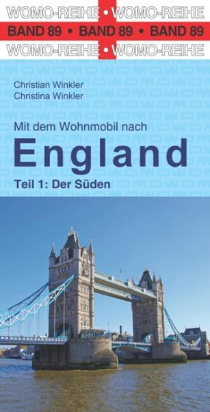 Mit dem Wohnmobil nach England vom Womo-Verlag