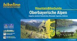 Oberbayerische Alpen, Bikeline Mountainbikeführer mit Karte, Esterbauer