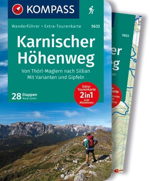 Karnischer Höhenweg, Kompass Wanderführer