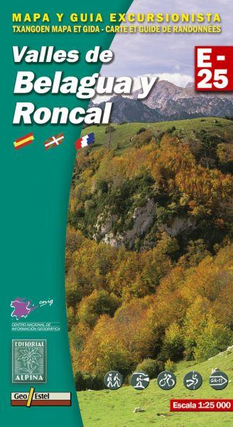Valles de Belagua y Roncal Wanderkarte 1:25.000 - Editorial Alpina