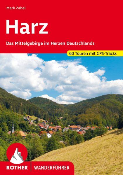 Harz Wanderführer, Rother