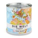 Welt Puzzle Magnets deutsch, von Extra Goods