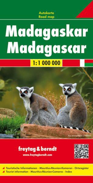 Madagaskar, Straßenkarte 1:1.000.000, Freytag und Berndt