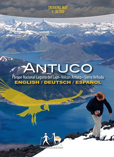 Wanderkarte Chile: Antuco - Parque Nacional Laguna del Laja 1:30.000