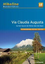 Via Claudia Augusta, Hikeline Wanderführer mit Karte