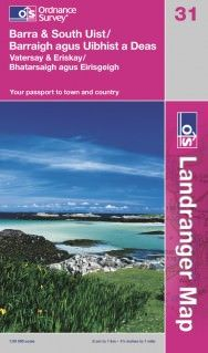 Landranger 31 Barra & South Uist Wanderkarte 1:50.000 - OS / Ordnance Survey