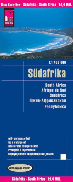 Südafrika Landkarte 1:1.400.000, Reise Know-How