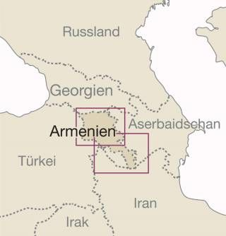 Armenien Landkarte 1:250.000, Reise Know-How