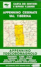 Edition Multigraphic 34/36, Appennino Cesenate Val Tiberina, 1:25.000