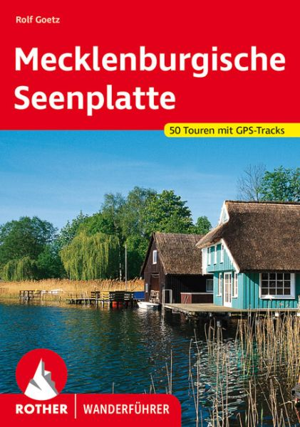 Mecklenburgische Seenplatte Wanderführer, Rother