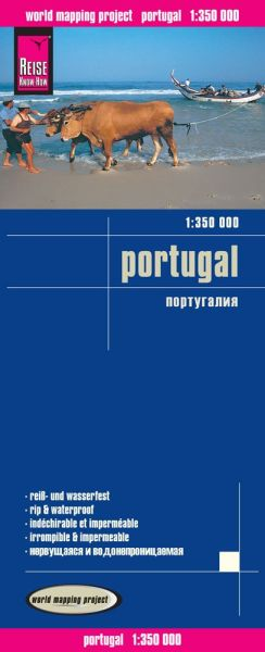 Portugal Landkarte 1:350.000, Reise Know-How