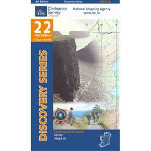OSI 22 Mayo Wanderkarte 1:50.000 - Ordnance Survey Ireland