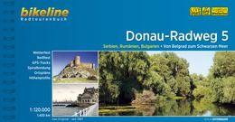 Donau-Radweg 5, Bikeline Radwanderführer mit Karte, Esterbauer
