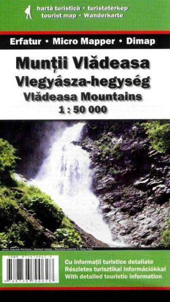 Karpaten Wanderkarte: Muntii Vladeasa / Vladeasa-Gebirge, Dimap