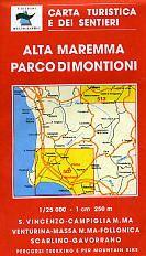Alta Maremma; Parco di Montioni; Blatt 507; Edition Multigraphic, 1:25.000