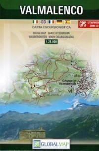 Lombardei Wanderkarte: Valmalenco 1:25.000