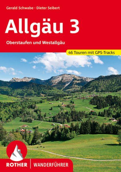 Allgäu 3 - Oberstaufen und Westallgäu Wanderführer, Rother