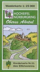 Hocheifel, Nürburgring, Oberes Ahrtal, Wanderkarte 1:25.000, Eifelvereinskarte Bl. 11