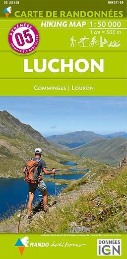 Rando Blatt 5, Luchon, Wanderkarte Pyrenäen 1:50.000