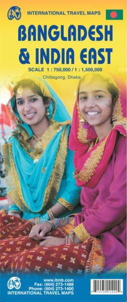 Ost Indien 1:1.500.000 & Bangladesch 1:750.000, ITM