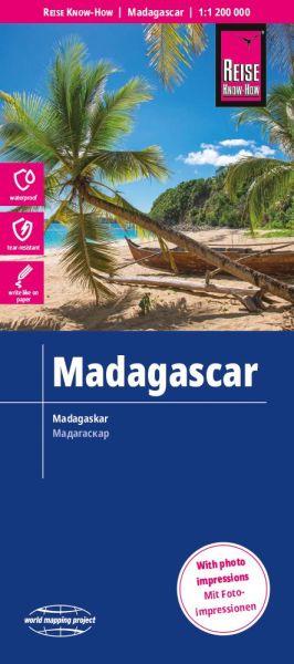 Madagaskar Landkarte 1:1.200.000, Reise Know-How