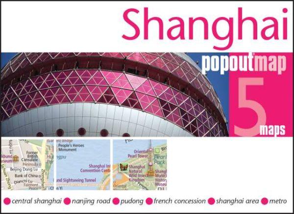 Popout Map: Shanghai Stadtplan
