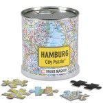 City Puzzle Magnets Hamburg von Extra Goods