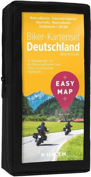 Biker-Kartenset Deutschland 1:300.000, Kunth