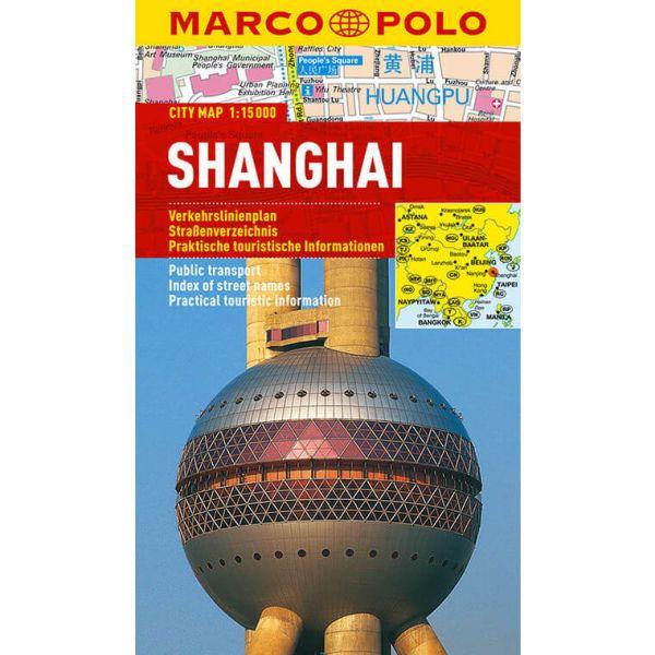 Shanghai Stadtplan 1:15.000 - Marco Polo