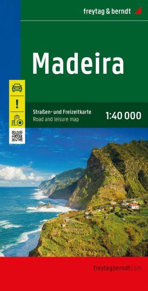 Madeira, Landkarte 1:40.000, Freytag und Berndt