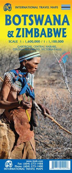 Botswana 1:1.500.000 & Simbabwe 1:1.100.000, ITM