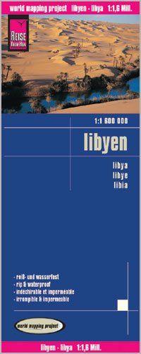 Libyen Landkarte 1:1.600.000, Reise Know-How