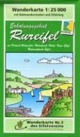 Erholungsgebiet Rureifel Wanderkarte 1:25.000 Eifelvereinskarte Bl. 2